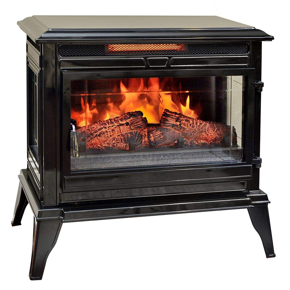 Comfort Smart Jackson Infrared Electric Stove Heater Cream CS 25IR-CRM