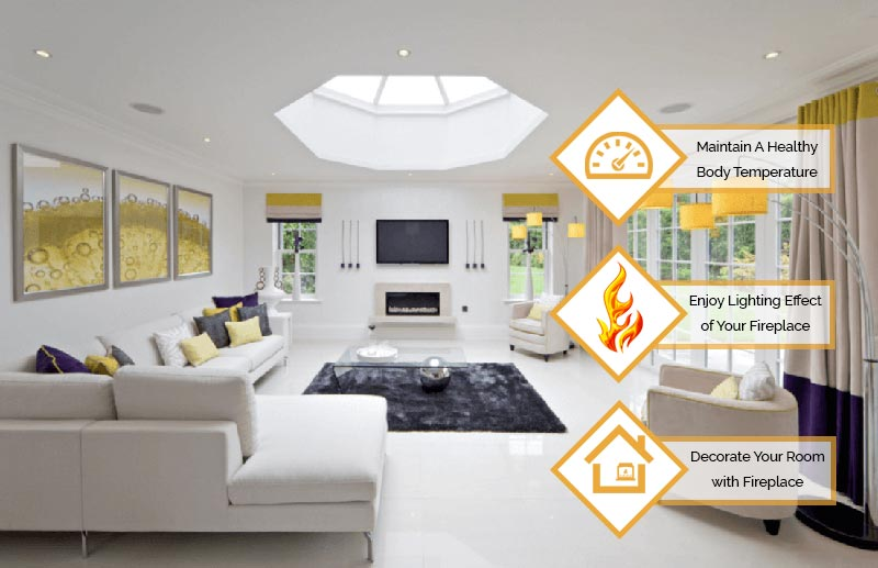 Ways Of Using Your Electric Fireplace In Spring