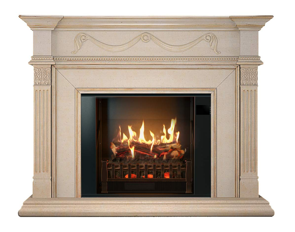 MagikFlame realistic electric fireplace