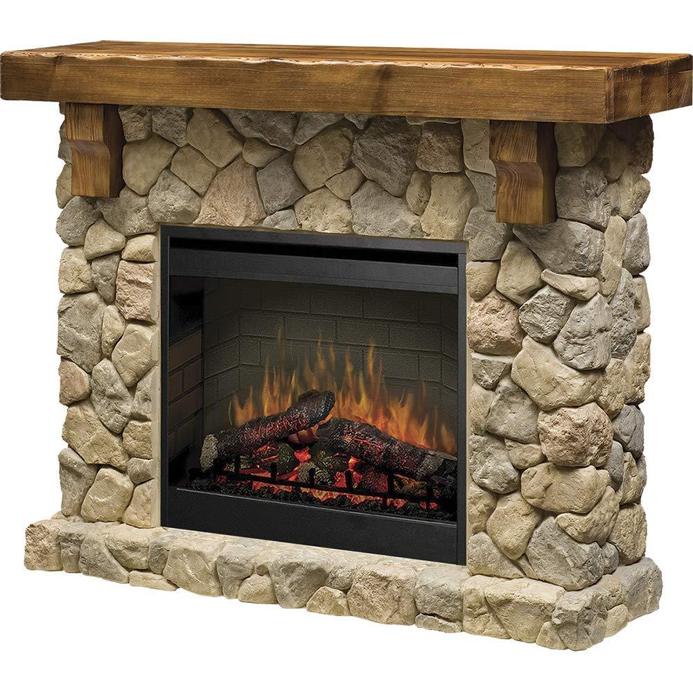 Dimplex Fieldstone most realistic electric fireplace