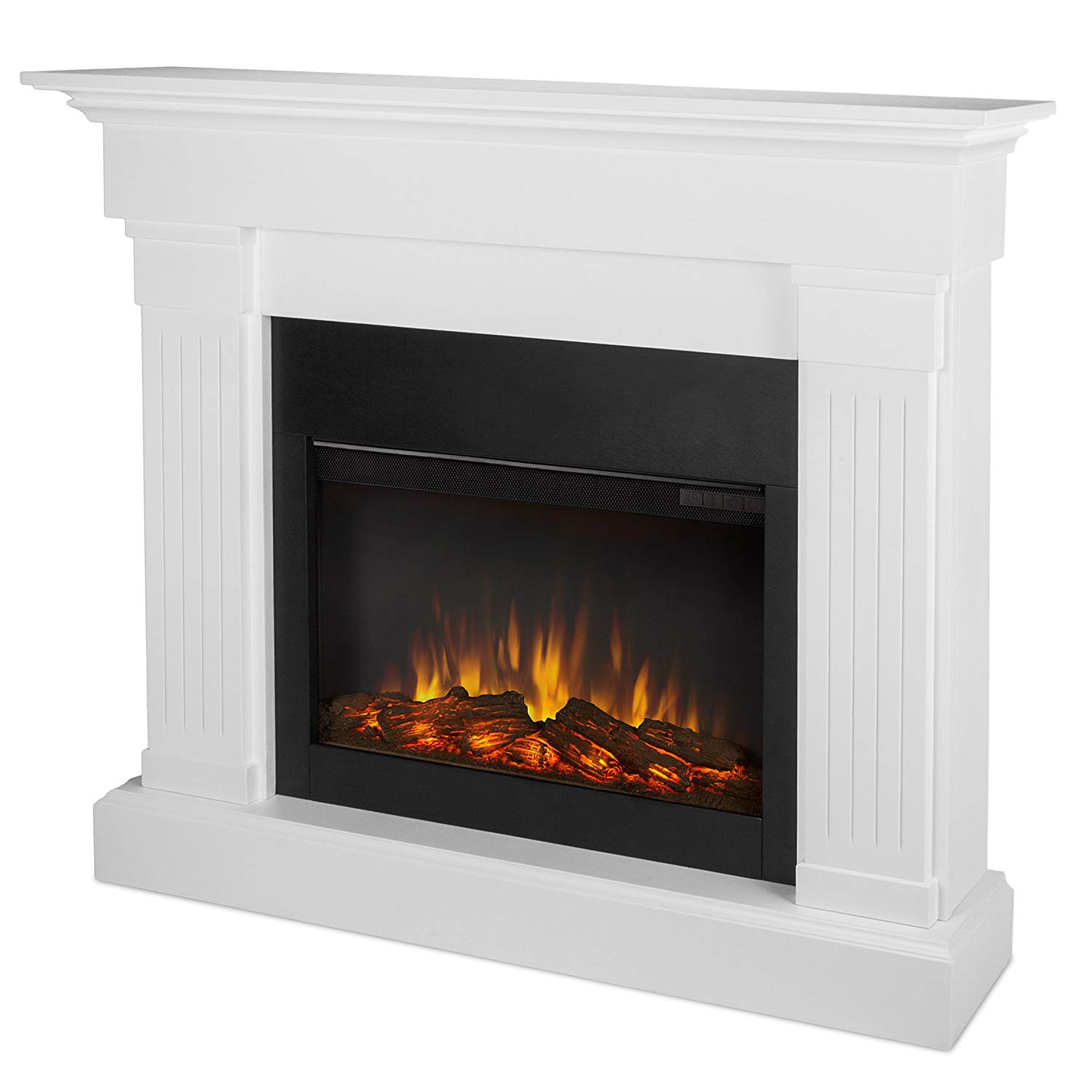Real Flame Crawford realistic electric fireplace