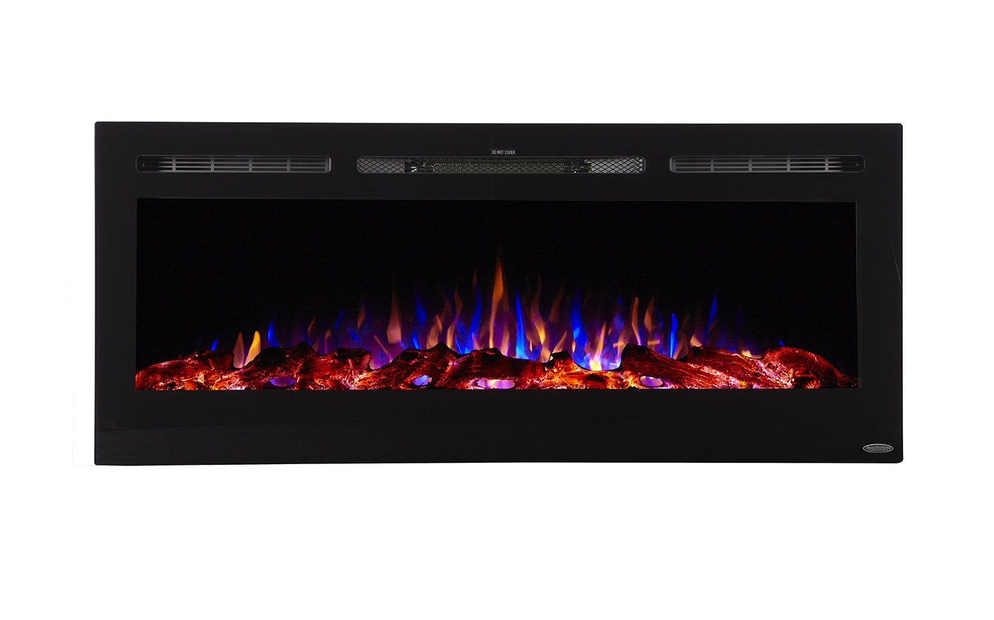 Touchstone Sideline Recessed Mounted Electric Fireplaces