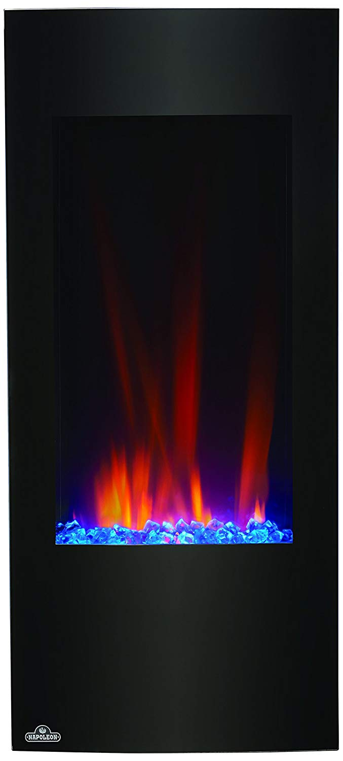 Napoleon NEFV38H vertical wall mount electric fireplace