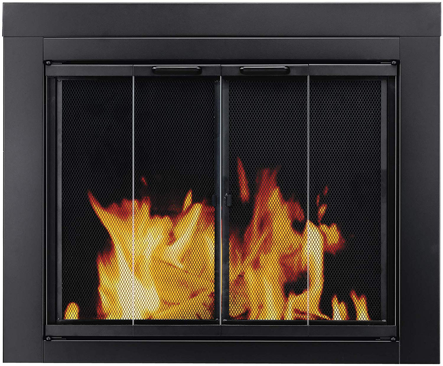 Pleasant Hearth AT-1002 Ascot Fireplace Glass Door