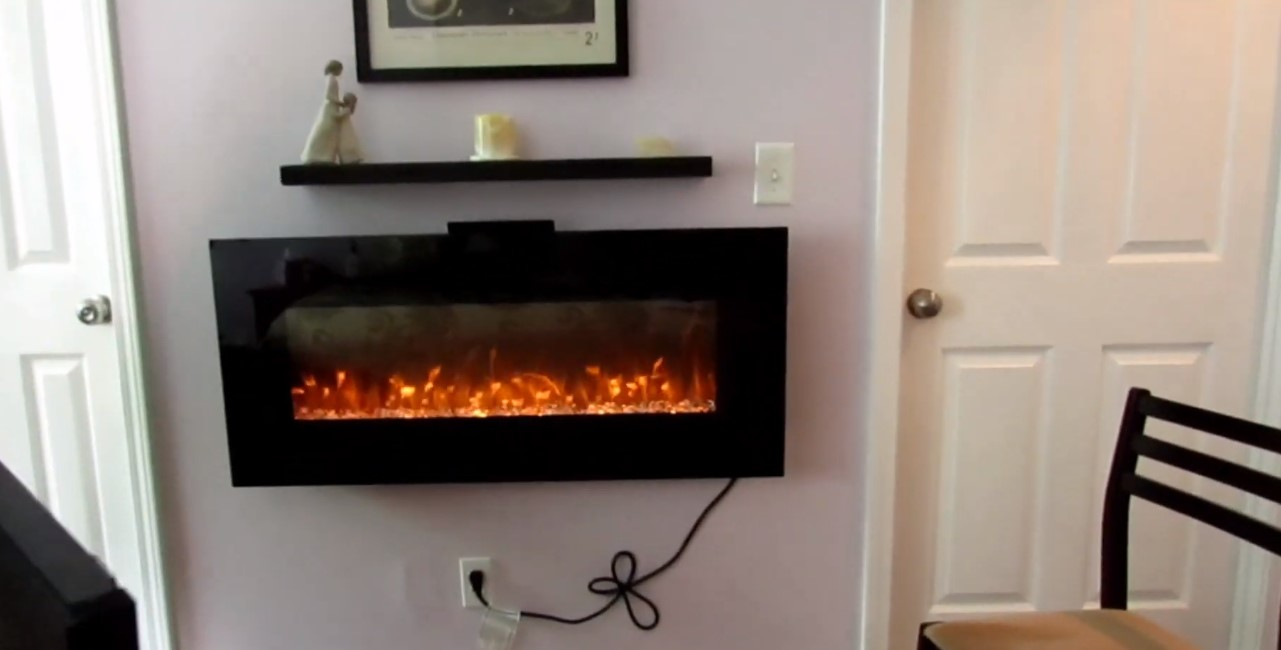 use extension cords with electric fireplaces